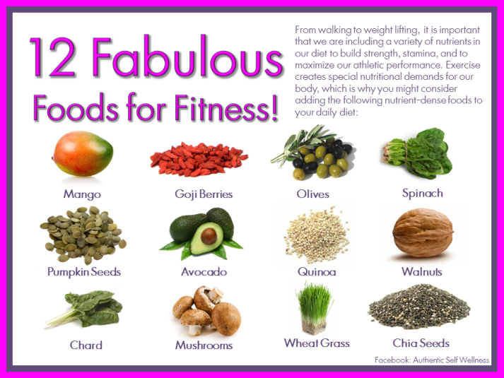 12 Fabulous Foods for Fitness