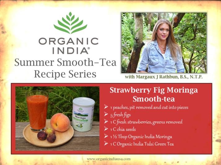 Organic India Recipe Card