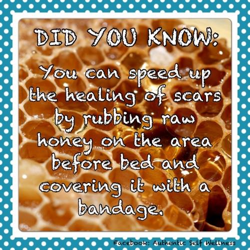 Raw Honey Healing Power