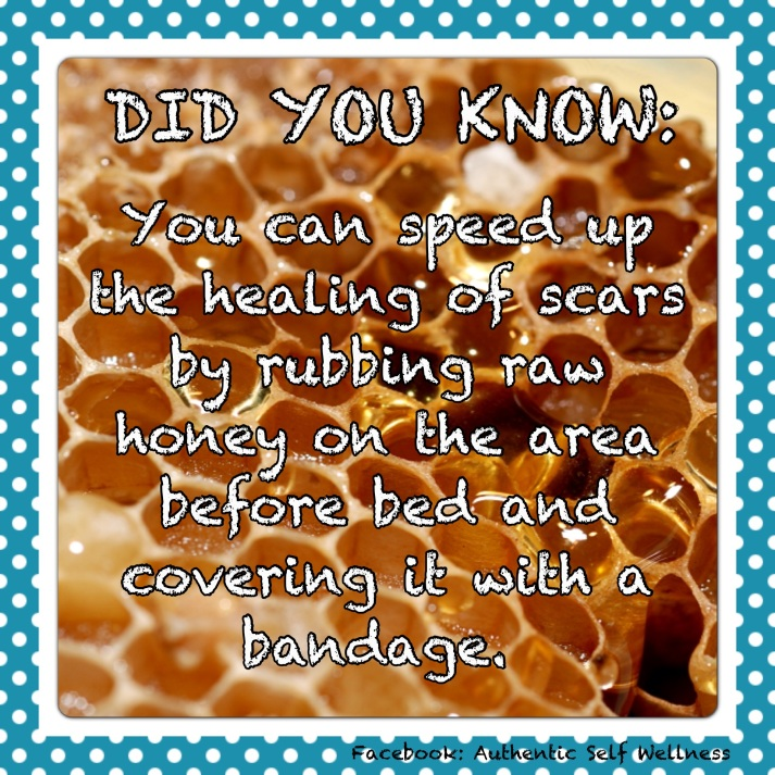 Raw Honey Healing Power