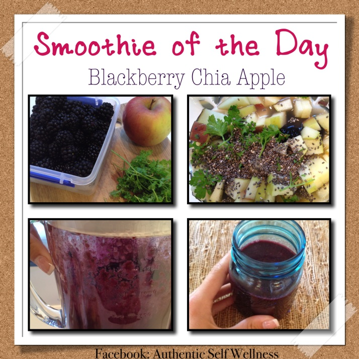 Blackberry Chia Apple