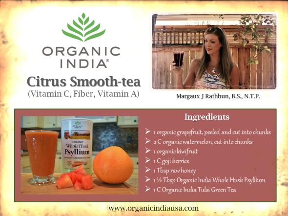 Organic India Smoothie