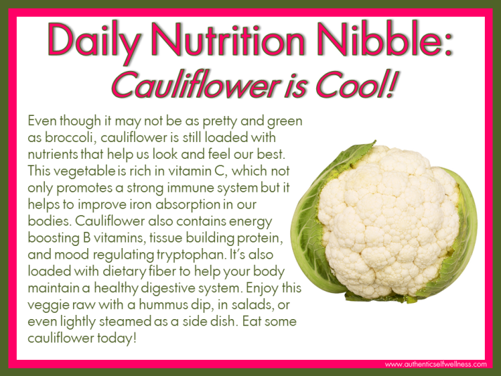 Cauliflower Health Benefits