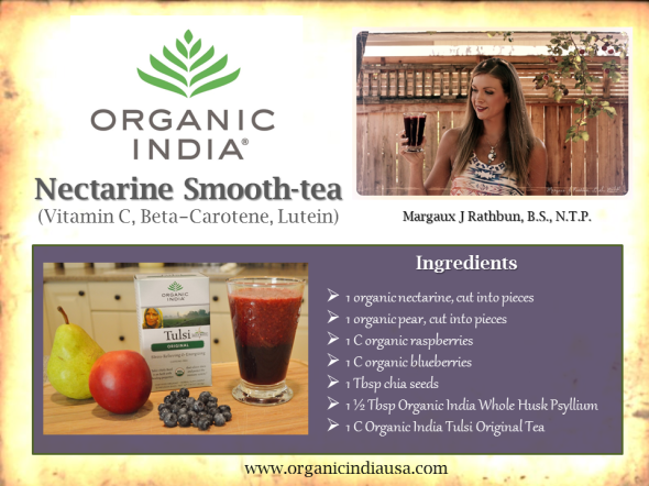 Organic India Recipe Card 2