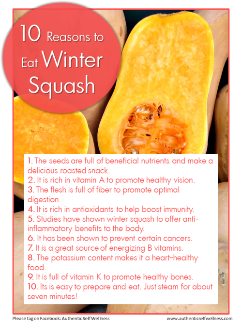 10 Reasons to eat Winter Squash