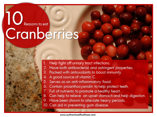10 Reasons to Eat Cranberries