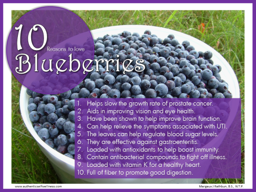 10 Reasons to Eat Blueberries