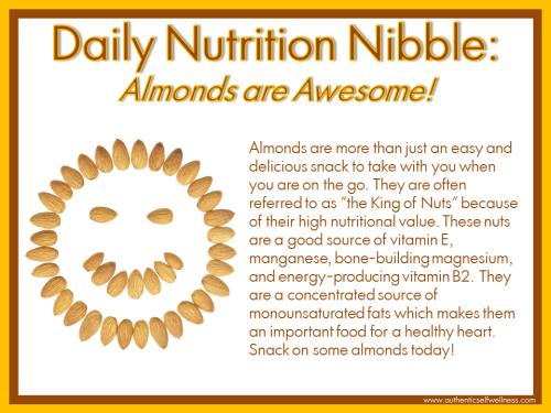 Almonds are Awesome