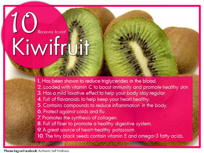 10 Reasons to Eat Kiwifruit