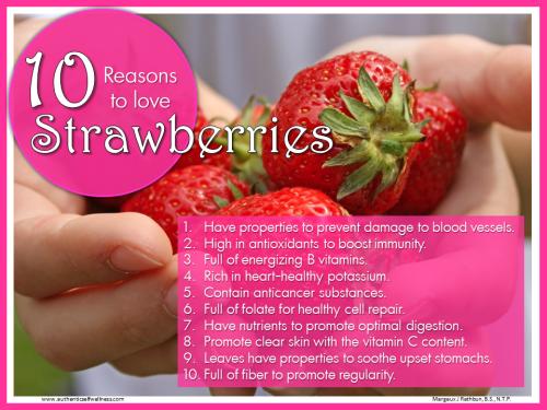 10 Reasons to Love Strawberries