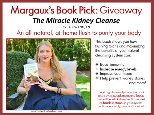 Margaux's Book Pick - Miracle Kidney Cleanse