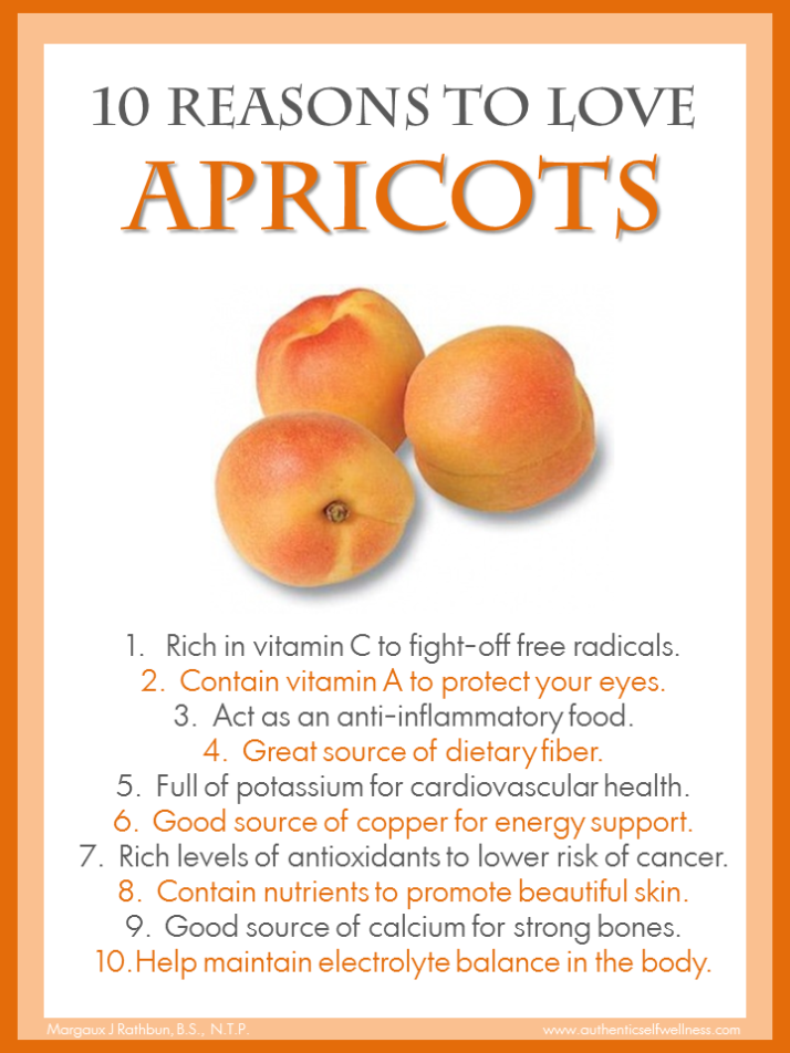 10 Reasons to Eat Apricots
