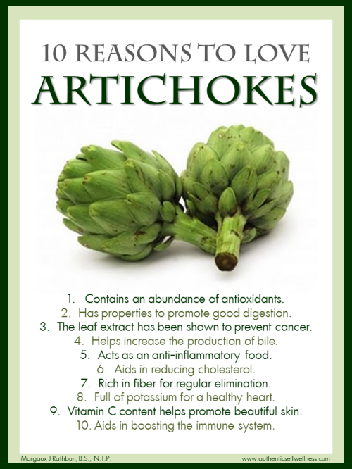 10 Reasons to Eat Artichokes
