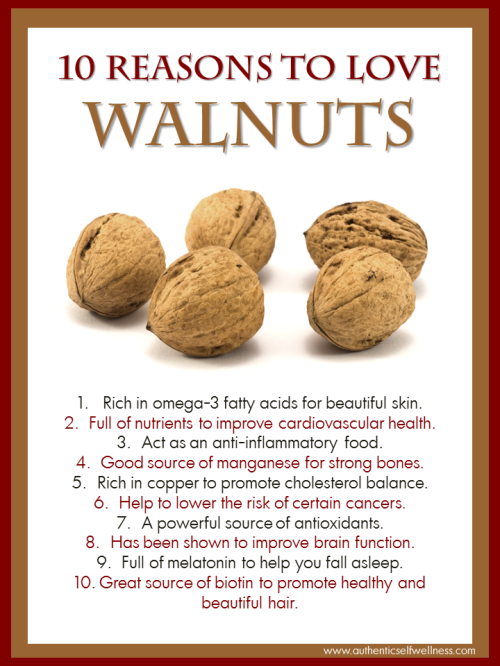 10 Reasons to Eat Walnuts