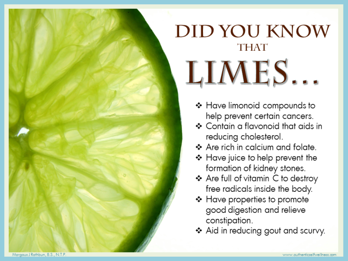 Did you know that Limes