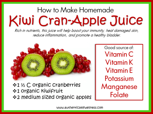 Kiwi CranApple Juice