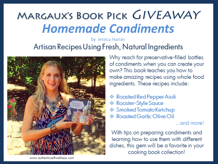 Book Giveaway - Homemade Condiments