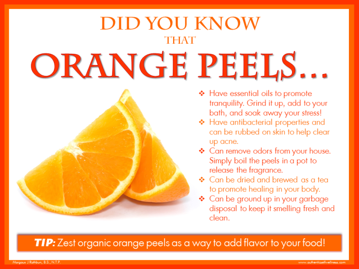 Did you Know Orange Peels