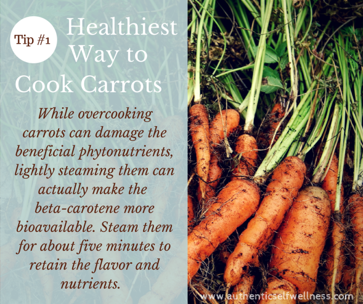 The Healthiest Way to Cook Carrots