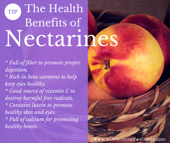 The Health Benefits of Nectarines