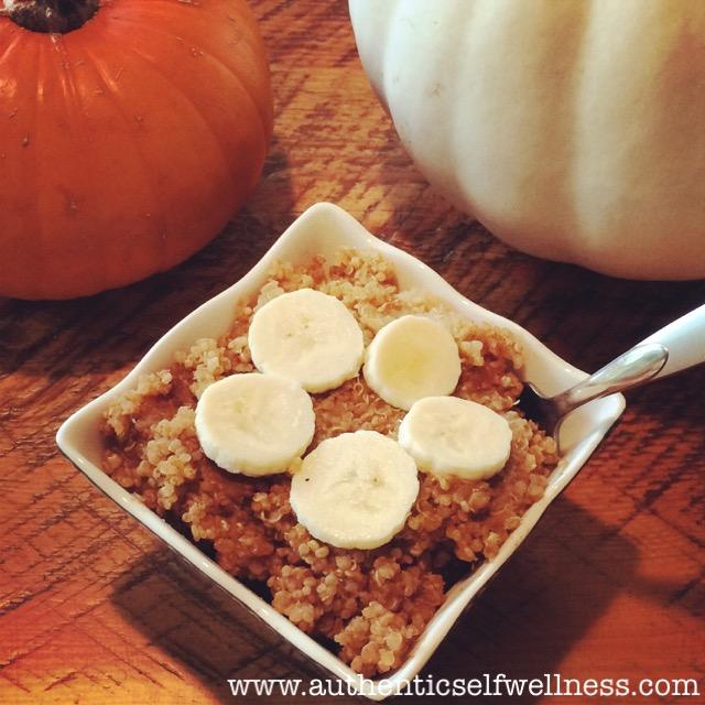 Pumpkin Quinoa Pudding
