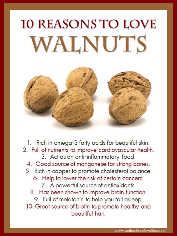 10 Reasons to Eat Walnuts