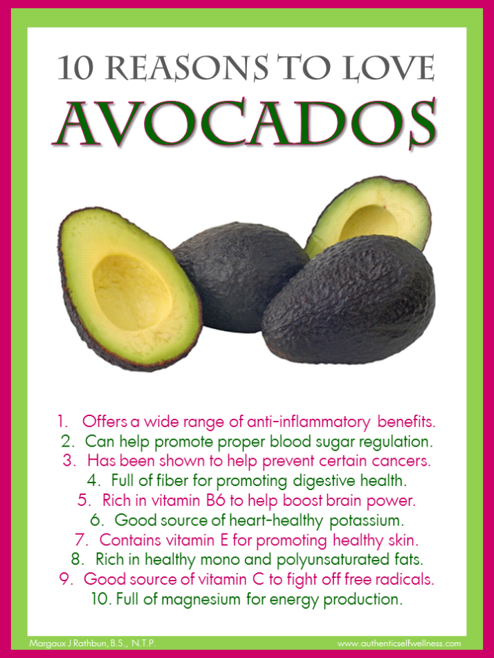 10 Reasons to Eat Avocados