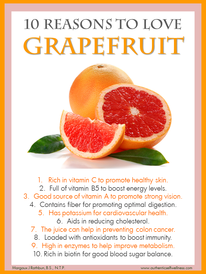 10 Reasons to Eat Grapefruit