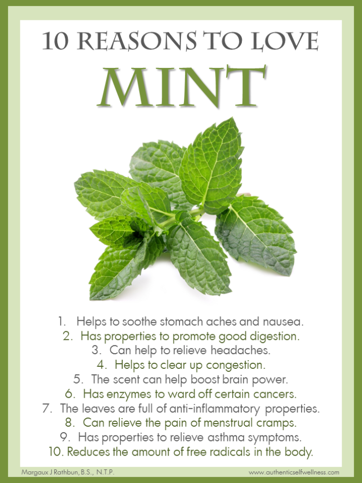 10 Reasons to Eat Mint