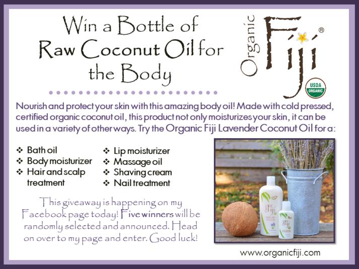 Organic Fiji Coconut Body Oil