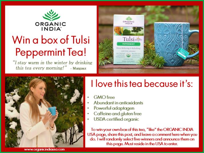 Tulsi Tea Giveaway