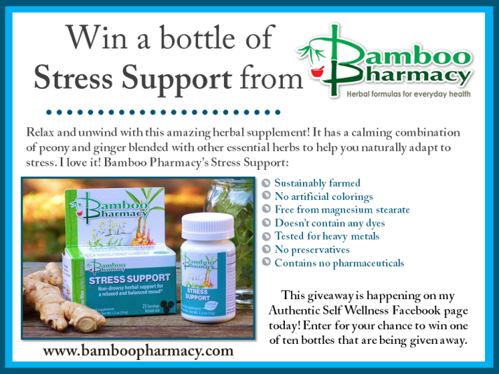 Bamboo Pharmacy Stress Support