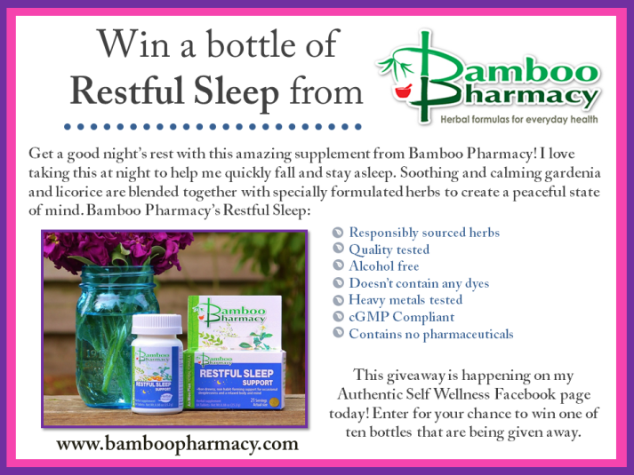 Restful Sleep from Bamboo Pharmacy