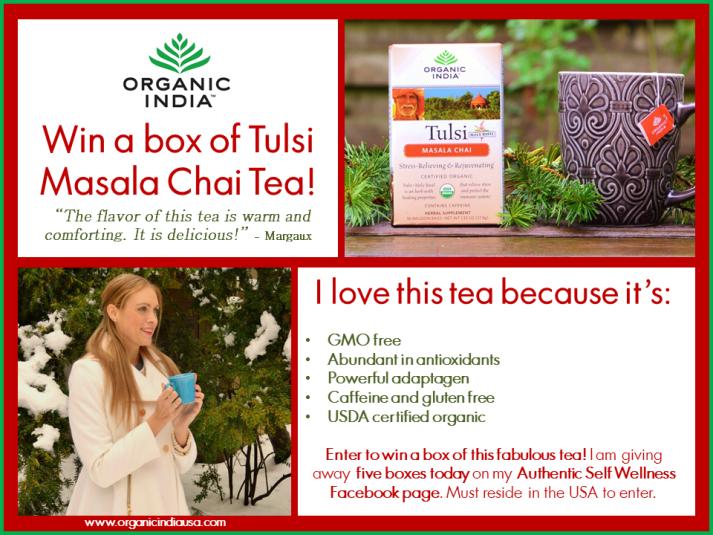 Organic India Chai Masala Tulsi Tea