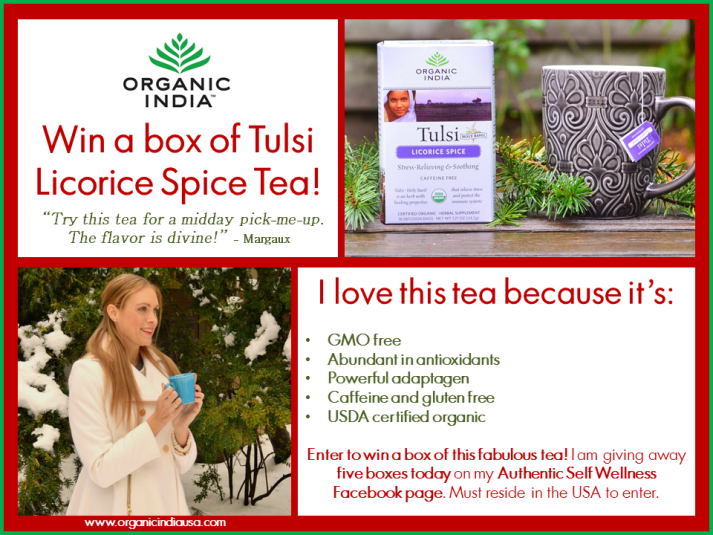 Organic India USA Tulsi Licorice Spice