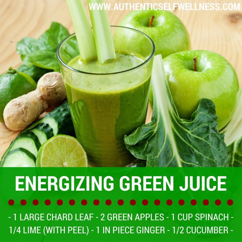 Energizing Green Juice