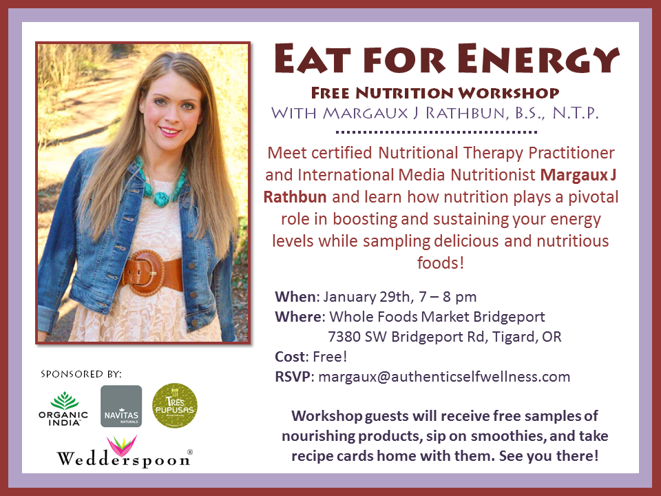 Eat for Energy Event