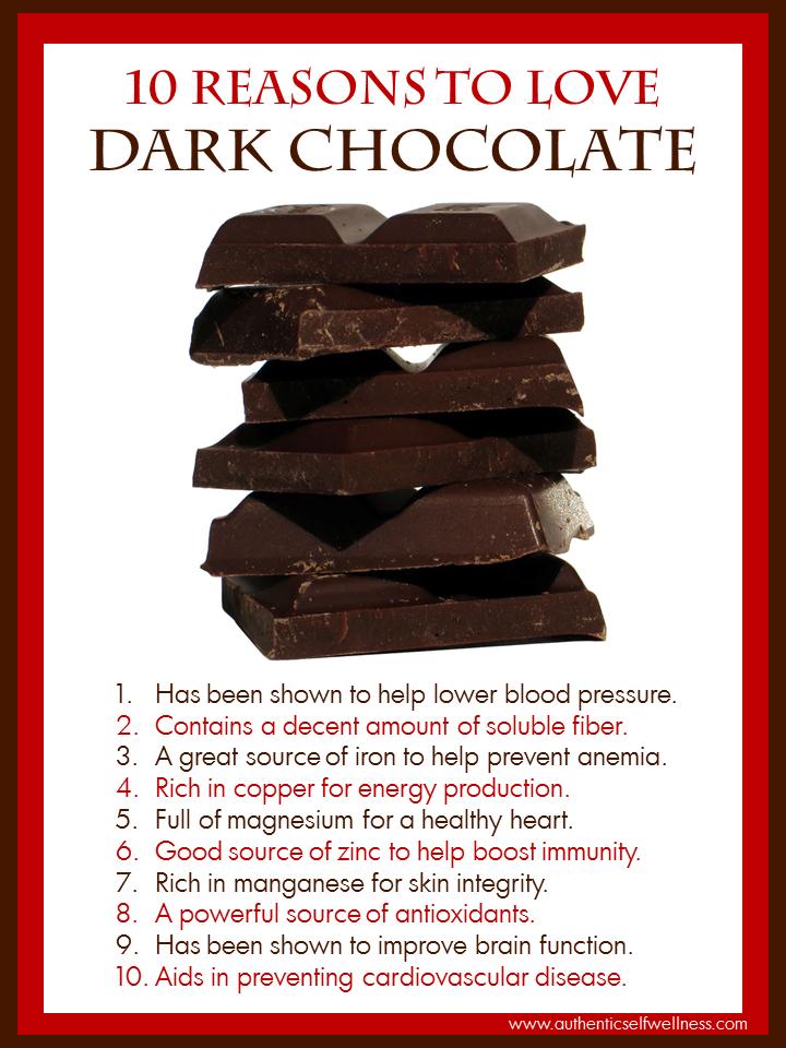 10 Reasons to Love Dark Chocolate