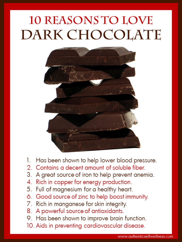 10 Reasons to Love Dark Chocolate