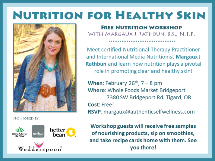 Portland Oregon Nutrition Workshop