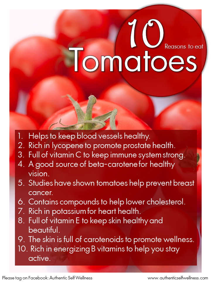 10 Reasons to Eat Tomatoes