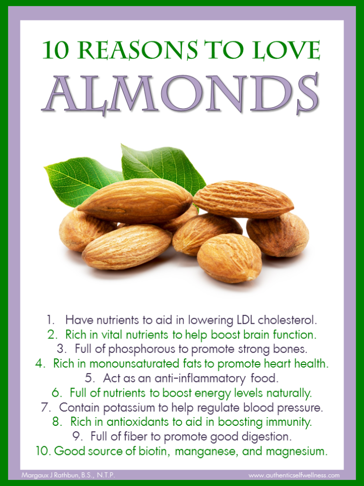 10 Reasons to Love Almonds