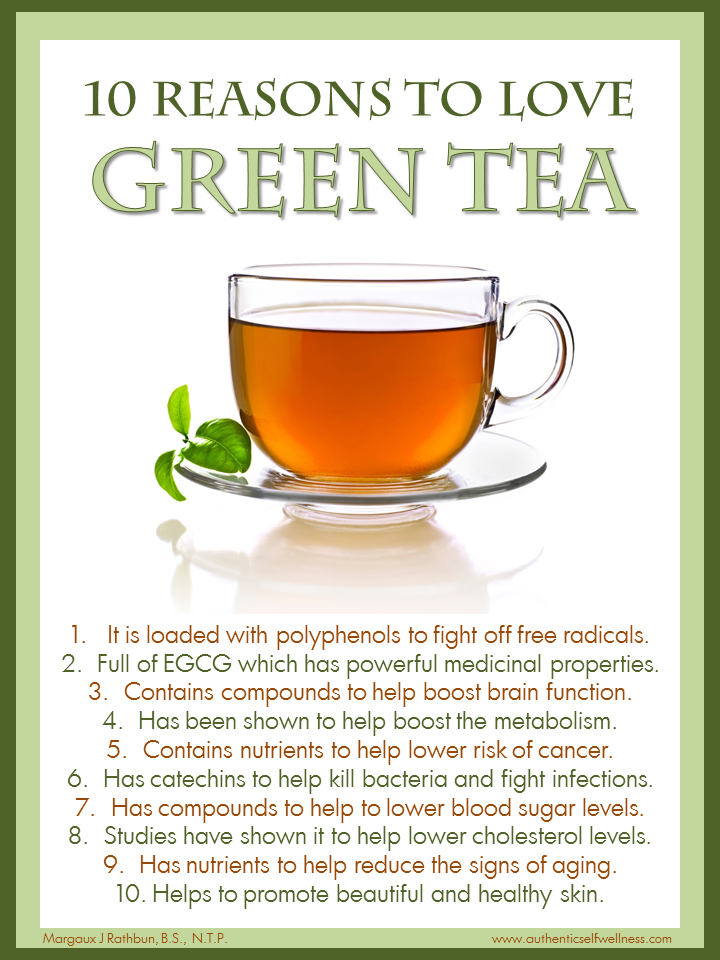 10 Reasons to Love Green Tea