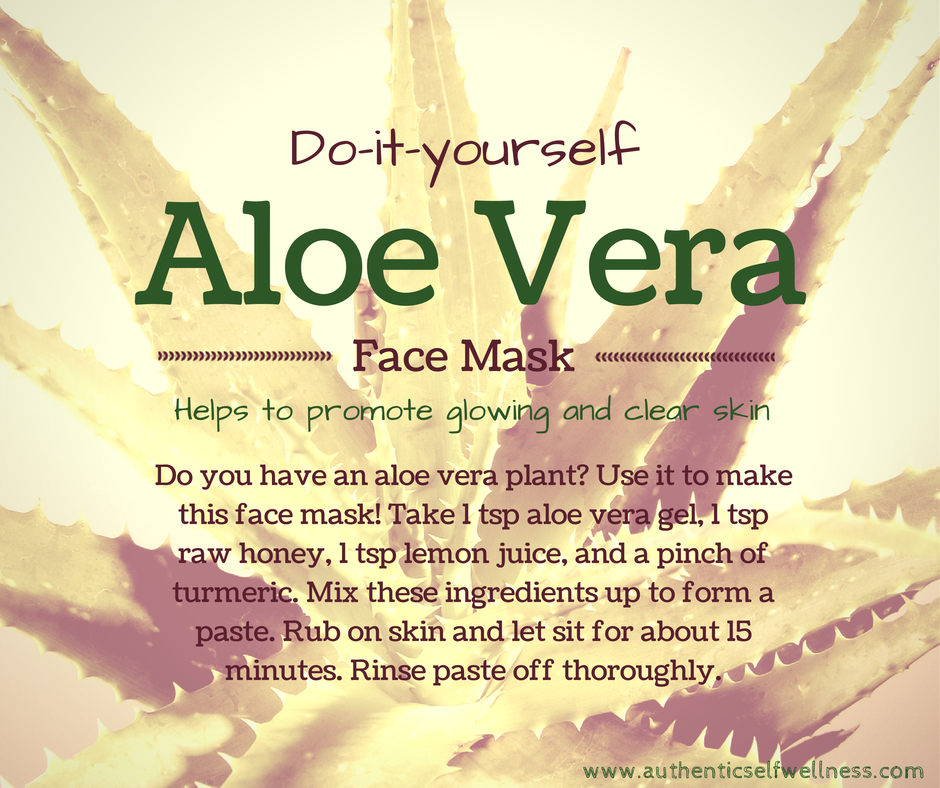 diy aloe vera face mask authentic self wellness. Black Bedroom Furniture Sets. Home Design Ideas