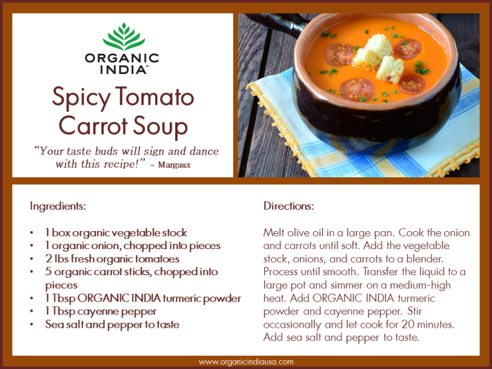 Spicy Tomato Carrot Soup