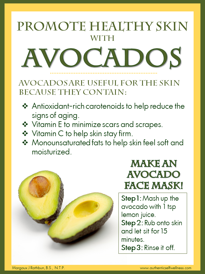 The Benefits of Avocados on Skin