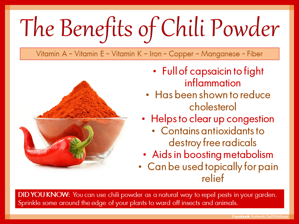 The Benefits of Chili Powder