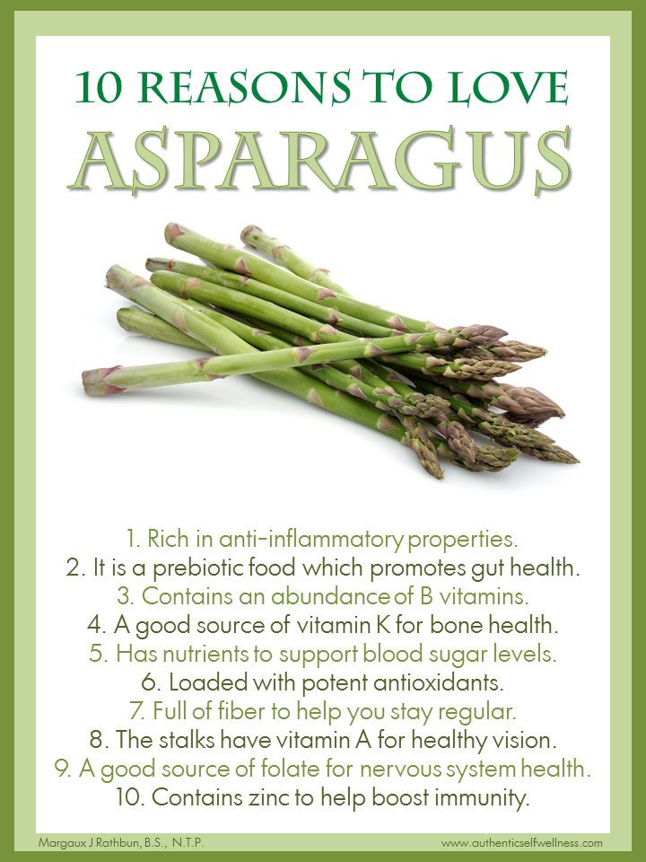 10 Reasons to Love Asparagus