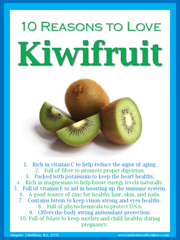 10 Reasons to Love Kiwifruit