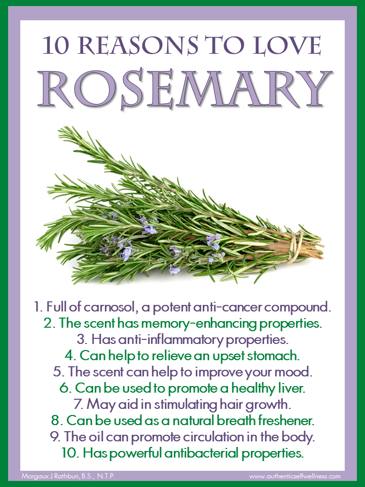 10 Reasons to Love Rosemary